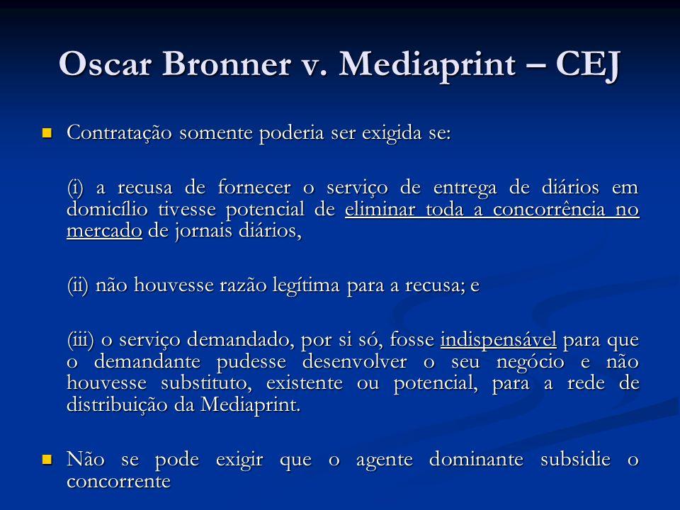 Oscar Bronner v. Mediaprint – CEJ