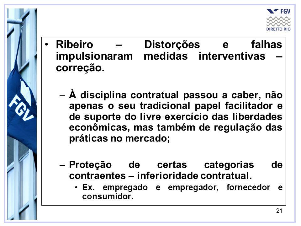 Ribeiro – Distorções e falhas impulsionaram medidas interventivas – correção.