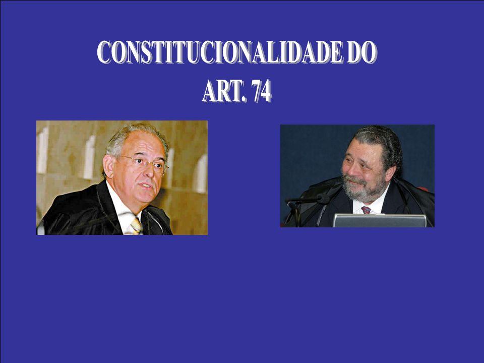 CONSTITUCIONALIDADE DO