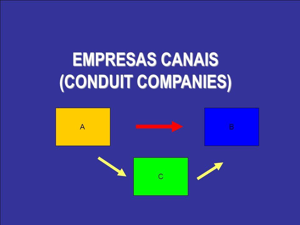 EMPRESAS CANAIS (CONDUIT COMPANIES)