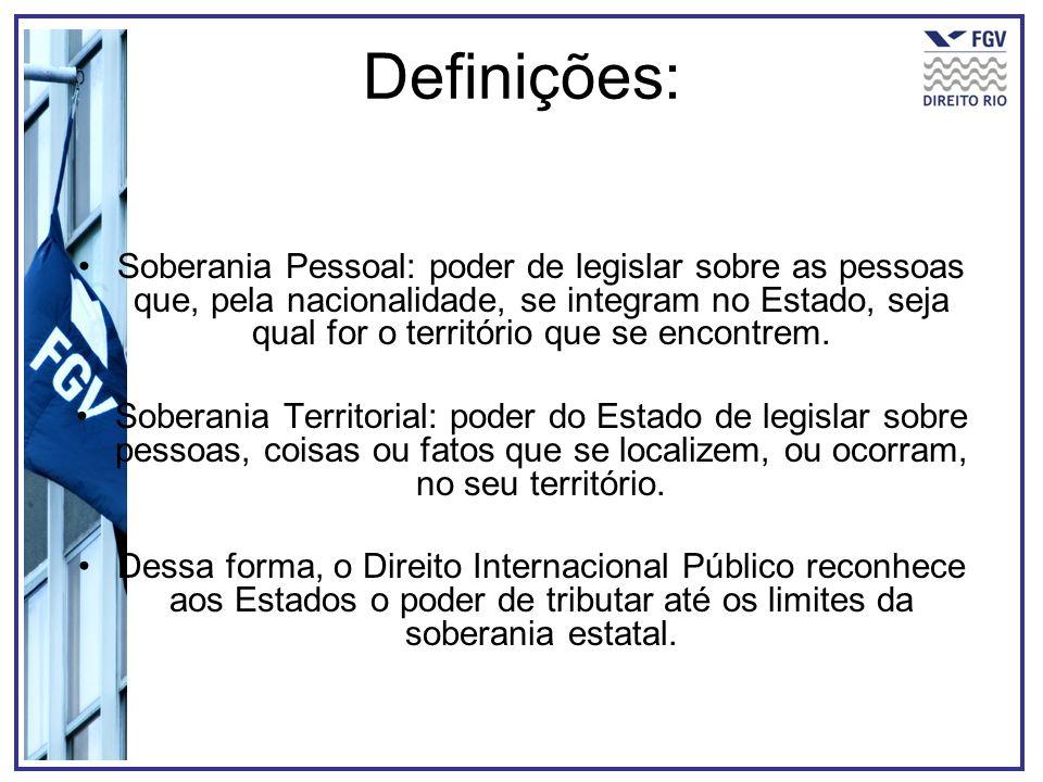 Definições: