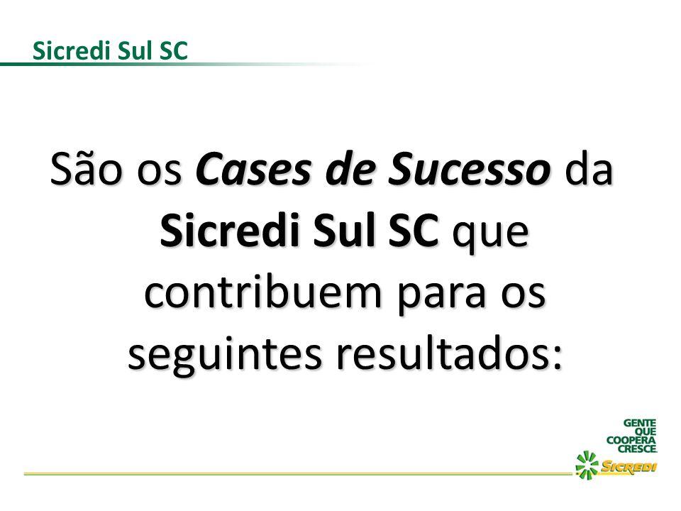 Sicredi Sul SCSão os Cases de Sucesso da Sicredi Sul SC que contribuem para os seguintes resultados:
