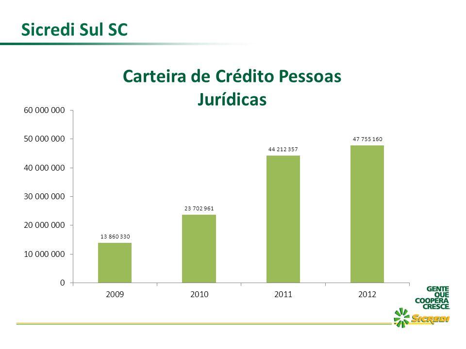 Carteira de Crédito Pessoas Jurídicas