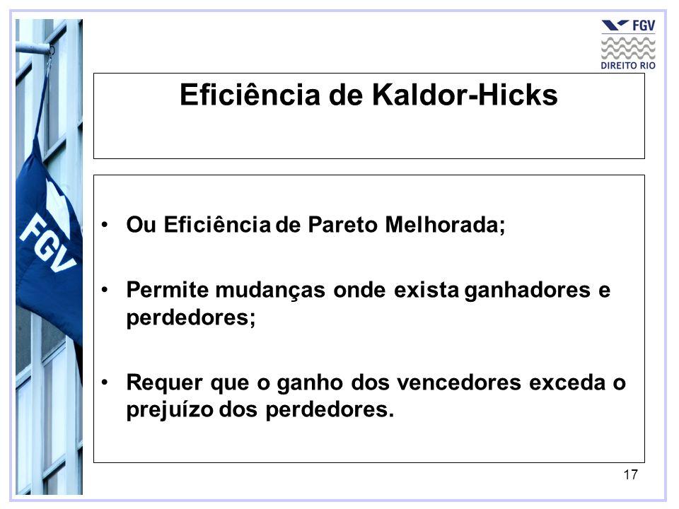 Eficiência de Kaldor-Hicks
