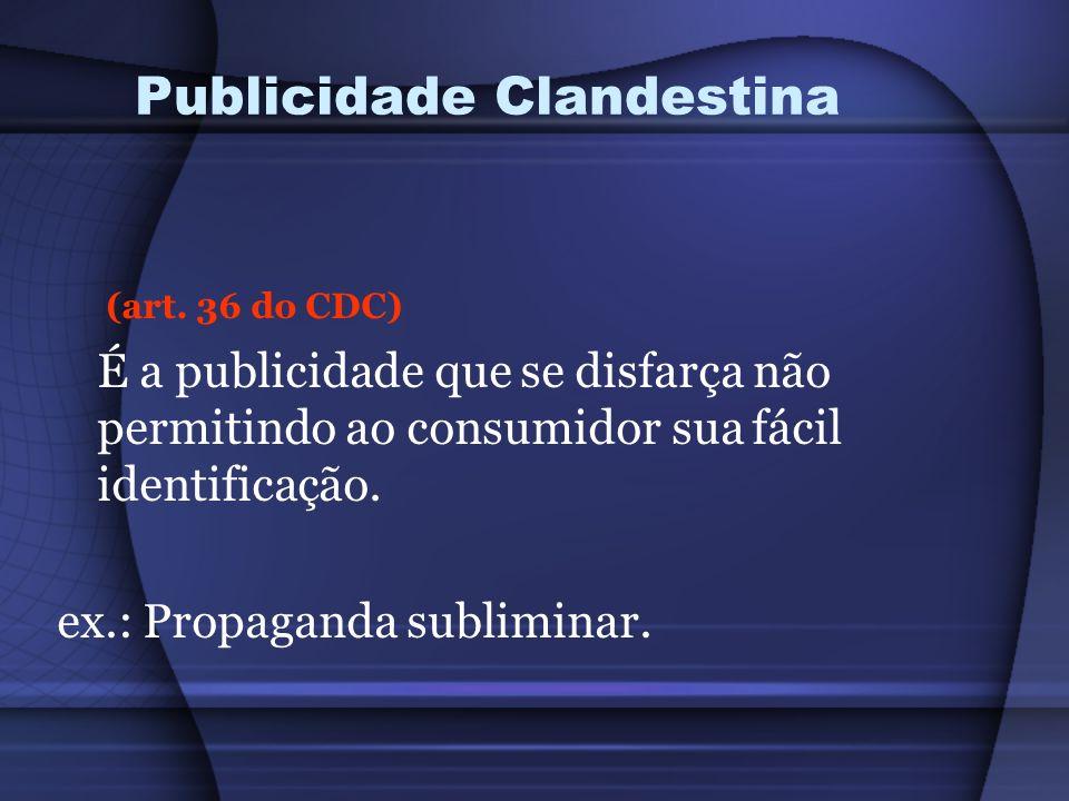 Publicidade Clandestina