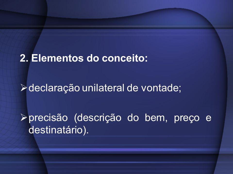 2. Elementos do conceito: