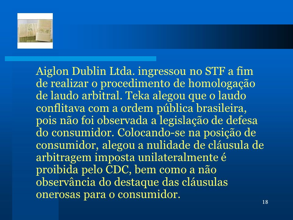 Aiglon Dublin Ltda.