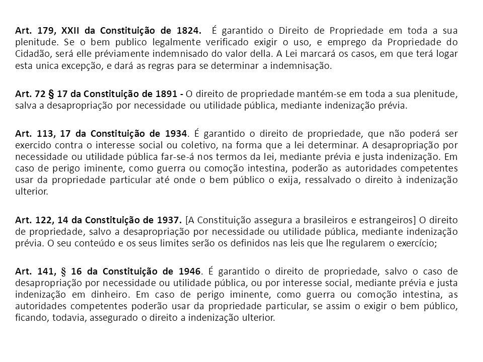 Art. 179, XXII da Constituição de 1824