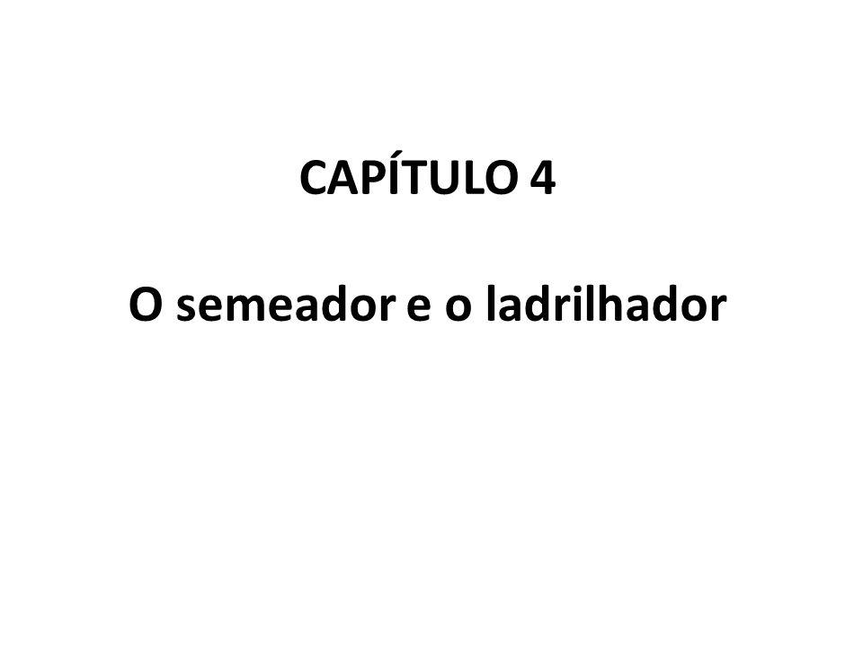 CAPÍTULO 4 O semeador e o ladrilhador