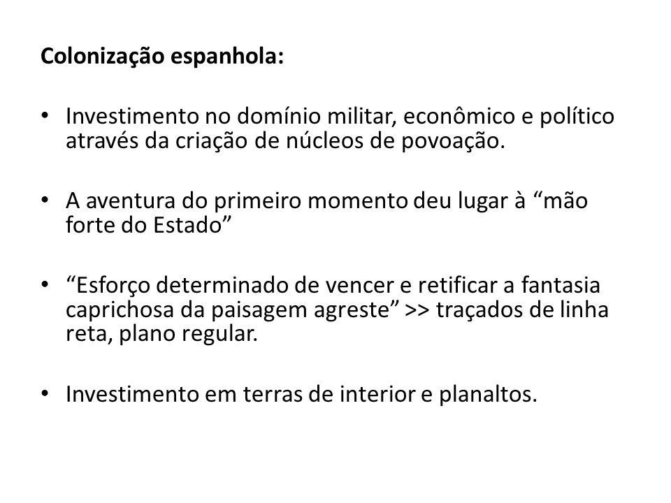 Colonização espanhola: