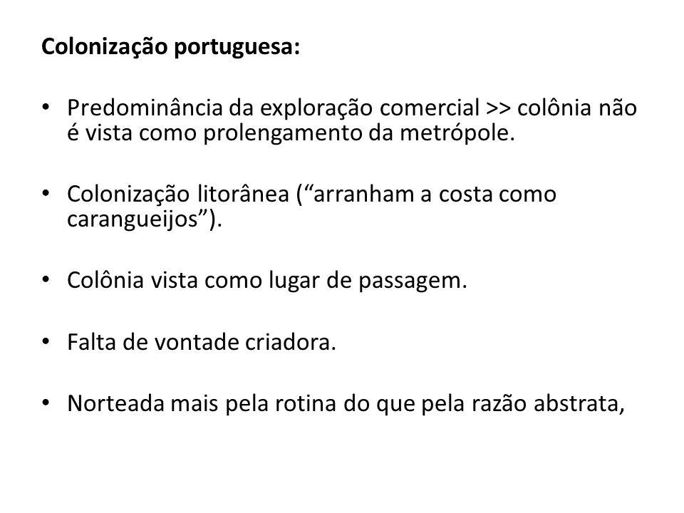Colonização portuguesa: