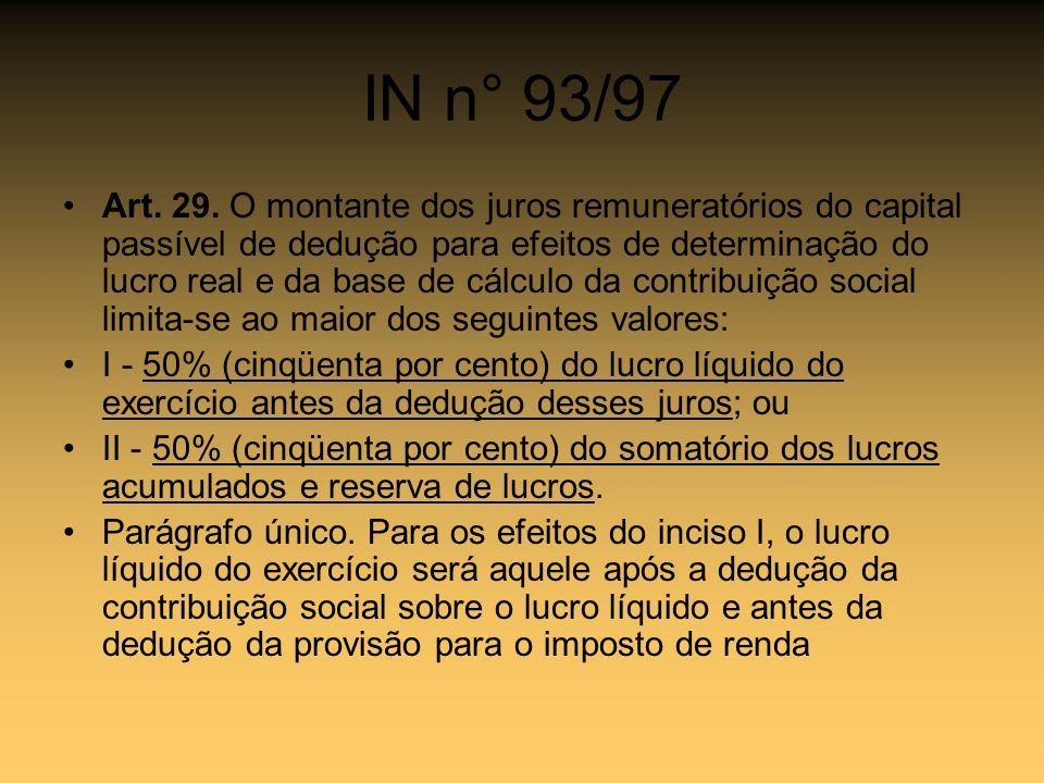 IN n° 93/97
