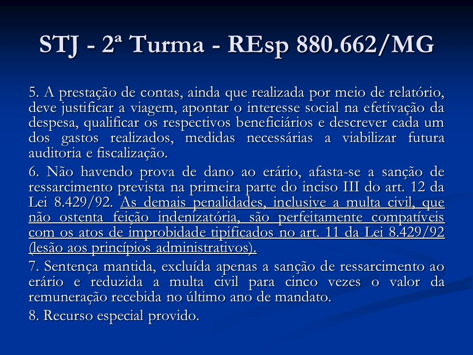 STJ - 2ª Turma - REsp 880.662/MG