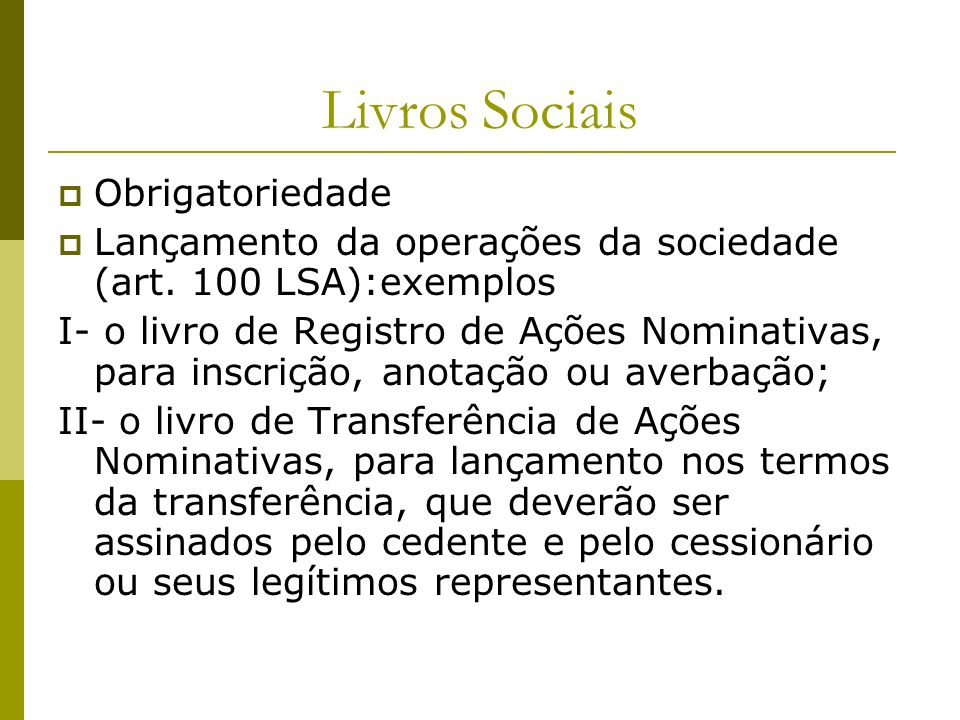 Livros Sociais Obrigatoriedade