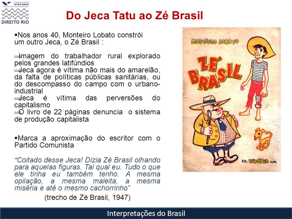 Do Jeca Tatu ao Zé Brasil