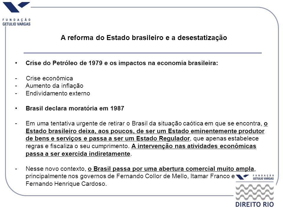 A reforma do Estado brasileiro e a desestatização