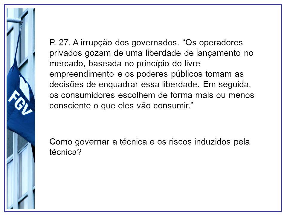 P. 27. A irrupção dos governados