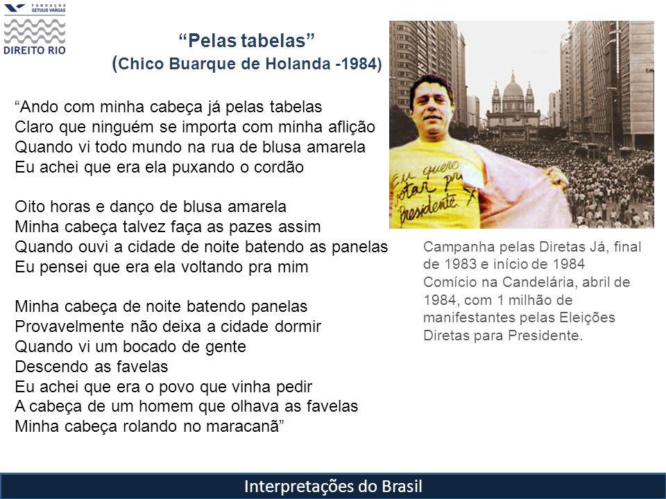 Pelas tabelas (Chico Buarque de Holanda -1984)