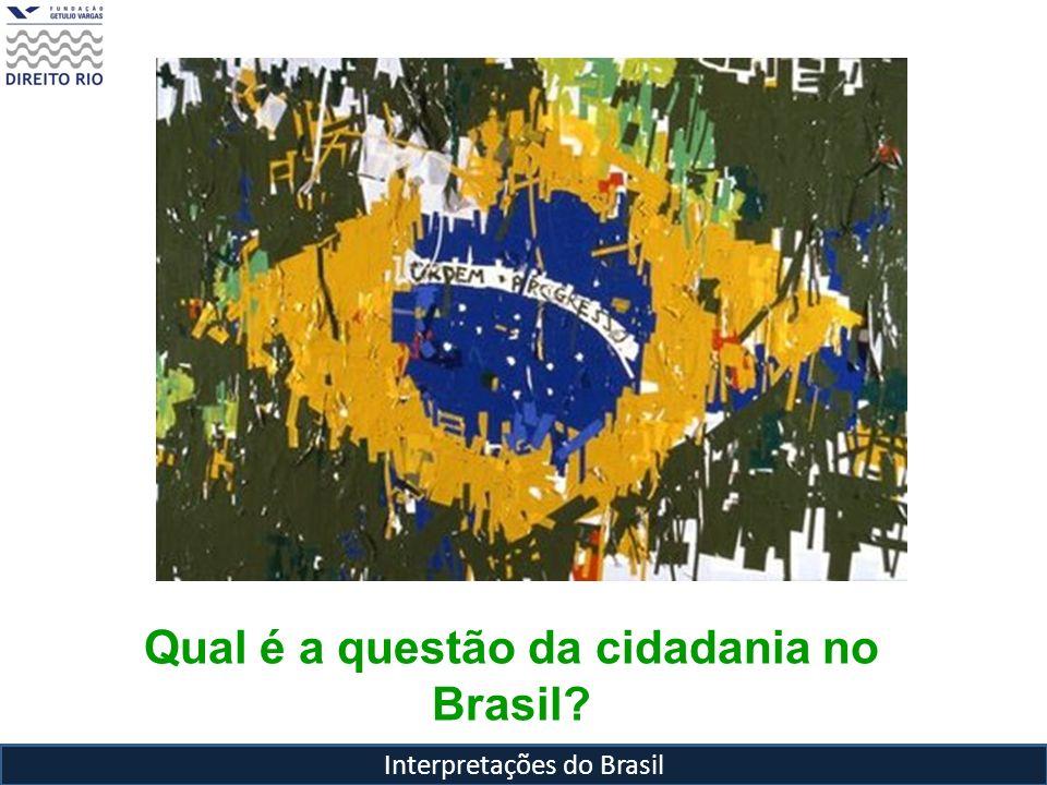 Qual é a questão da cidadania no Brasil