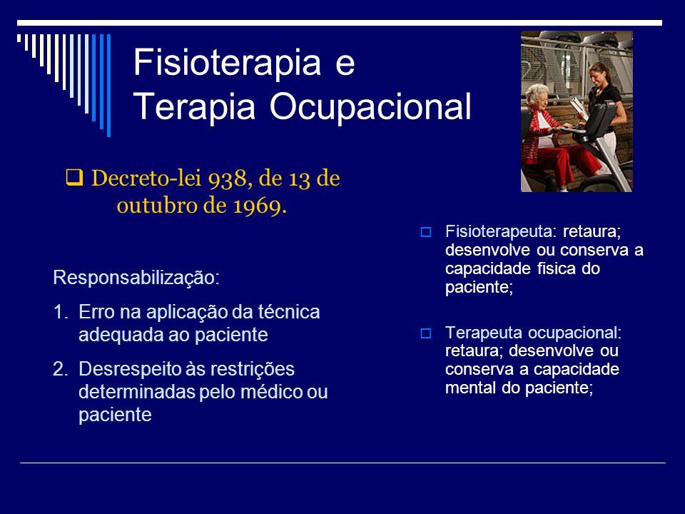 Fisioterapia e Terapia Ocupacional