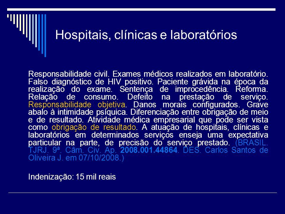 Hospitais, clínicas e laboratórios