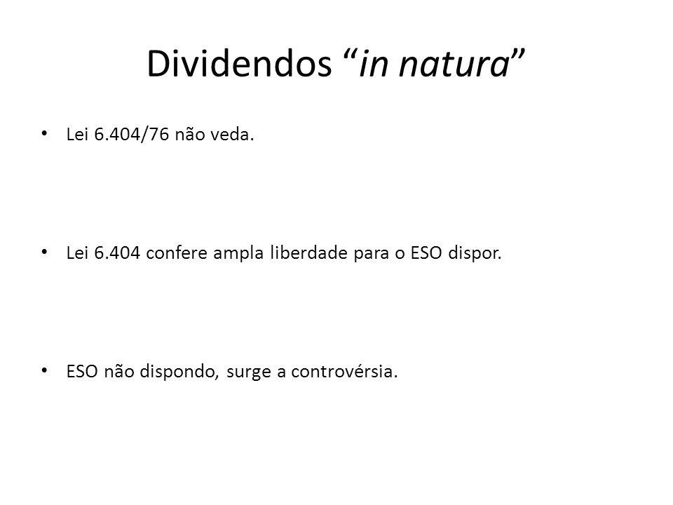 Dividendos in natura