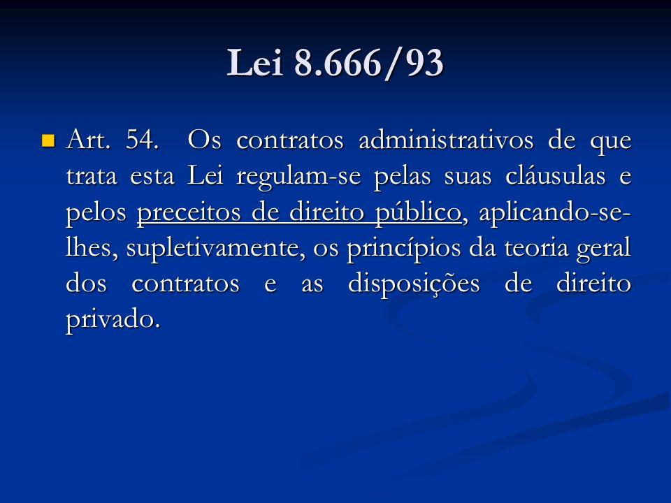 Lei 8.666/93