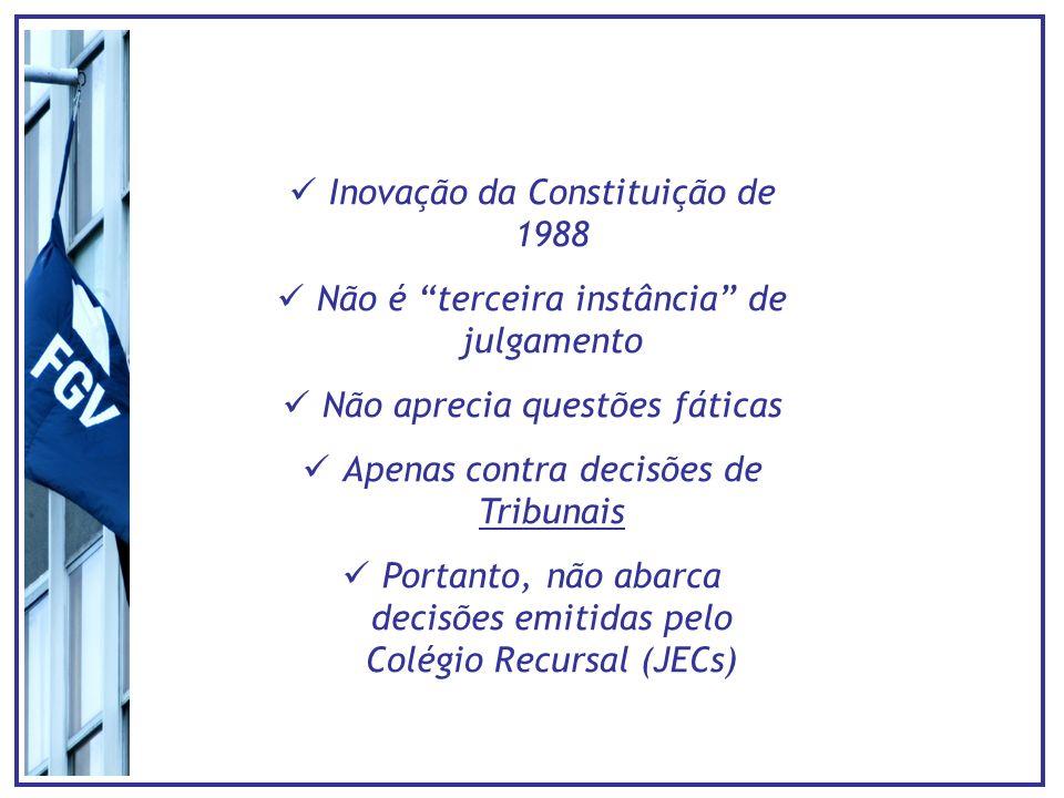 Inovação da Constituição de 1988