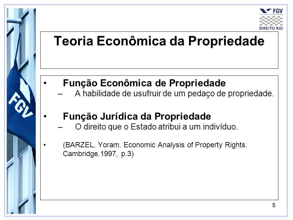 Teoria Econômica da Propriedade