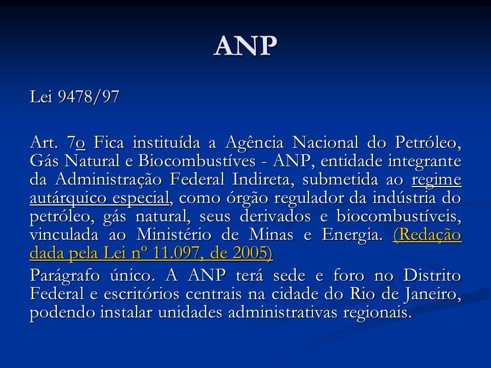 ANP Lei 9478/97.