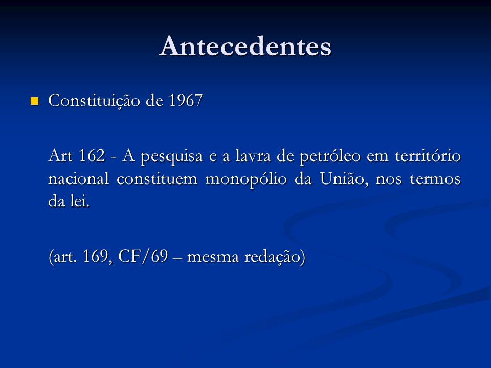 Antecedentes Constituição de 1967
