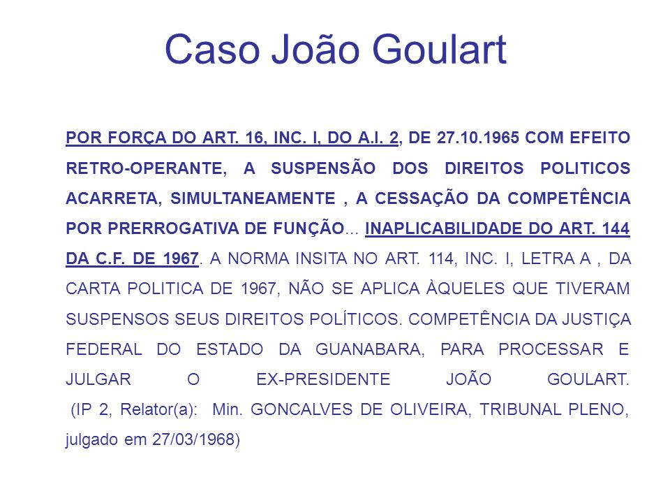 Caso João Goulart