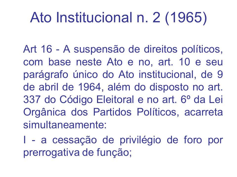 Ato Institucional n. 2 (1965)