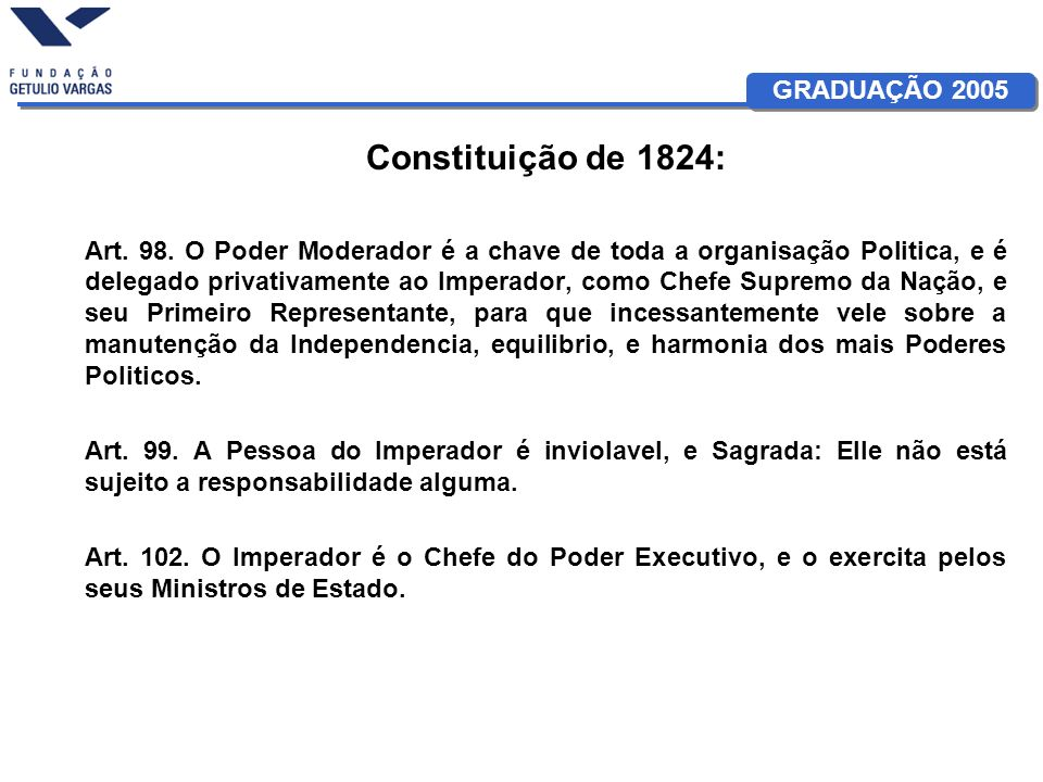 Constituição de 1824: