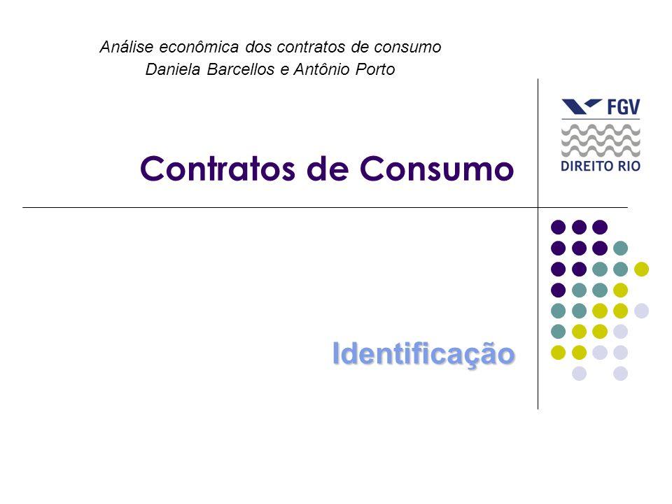 Contratos de Consumo Identificação