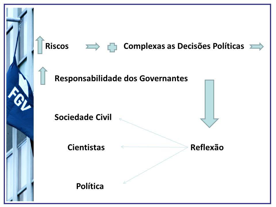 Complexas as Decisões Políticas