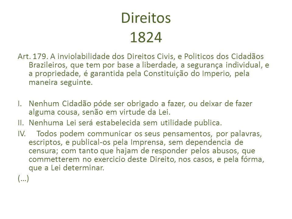 Direitos 1824