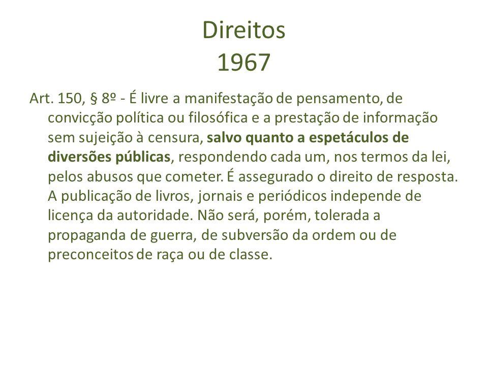 Direitos 1967