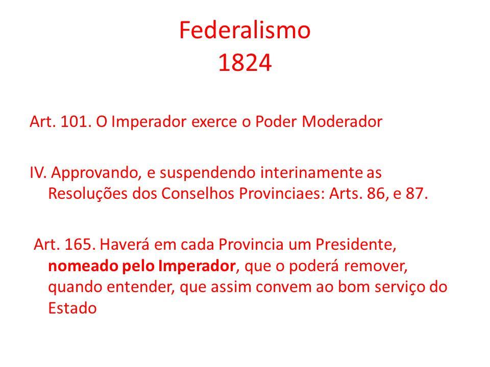 Federalismo 1824