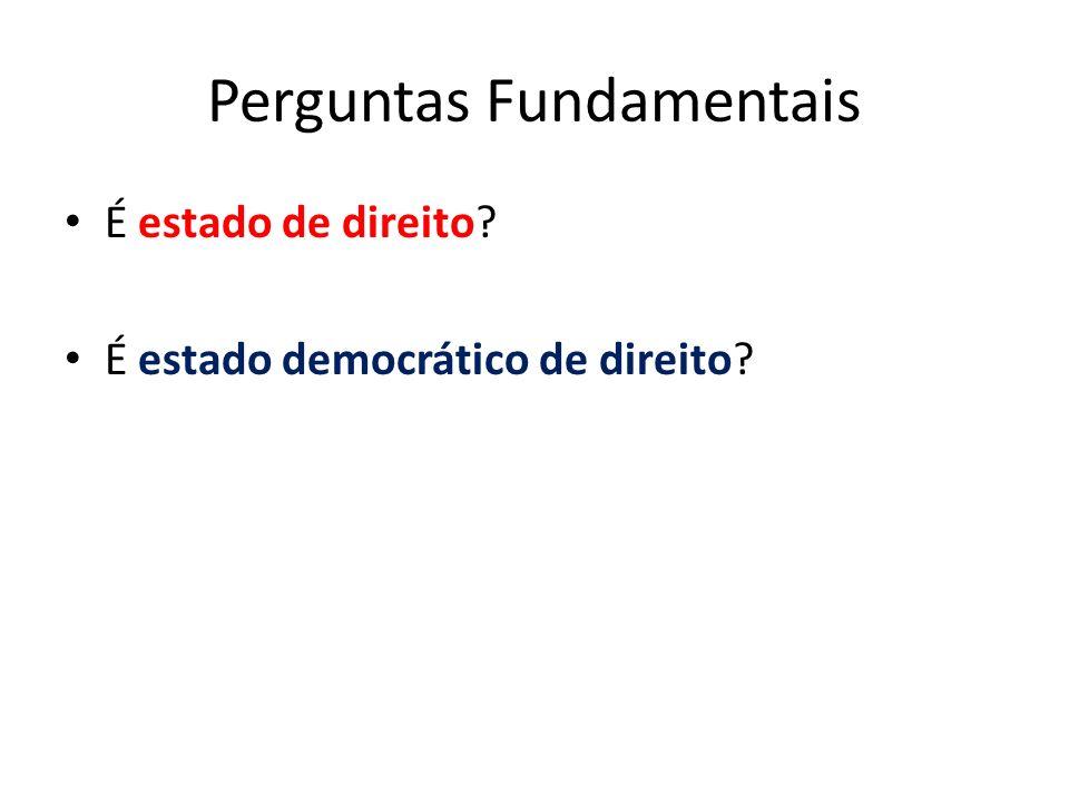Perguntas Fundamentais
