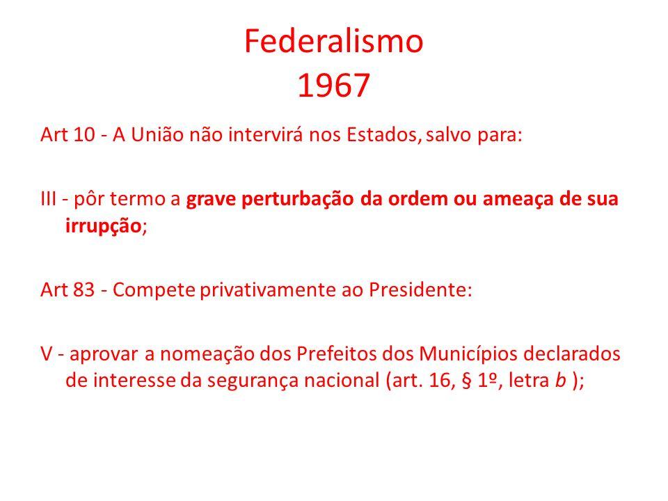 Federalismo 1967