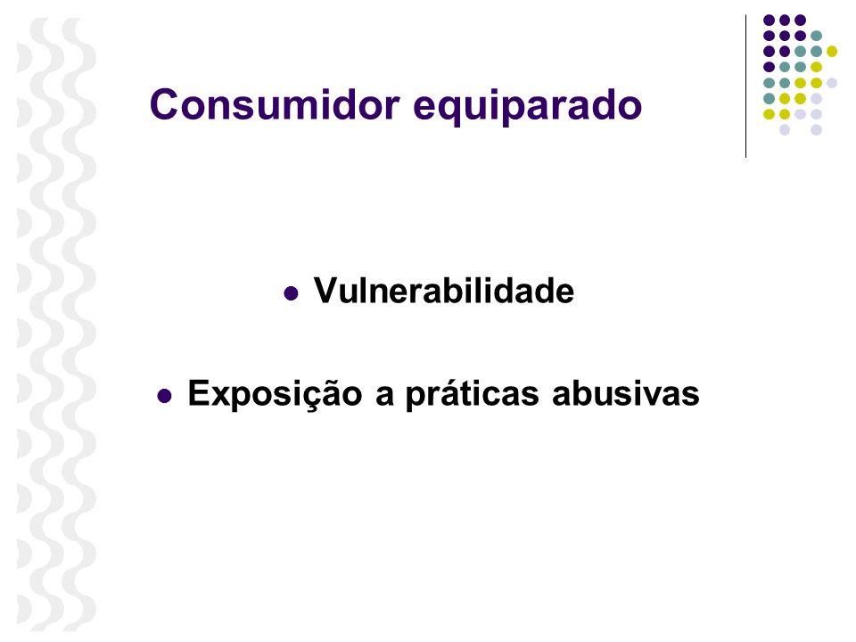 Consumidor equiparado