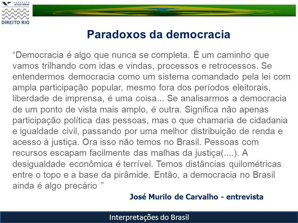José Murilo de Carvalho - entrevista
