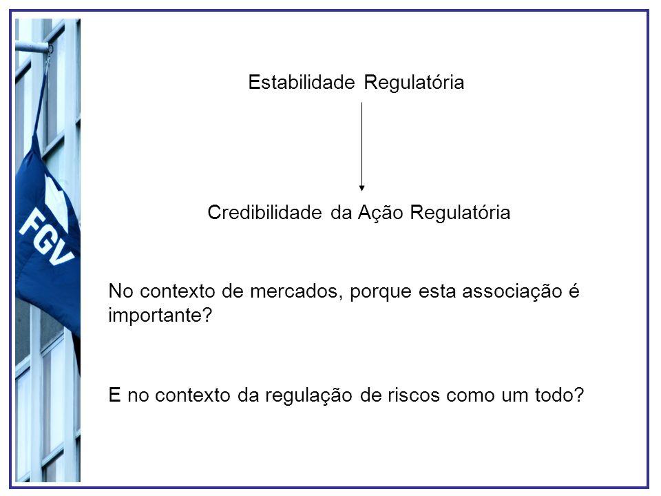 Estabilidade Regulatória