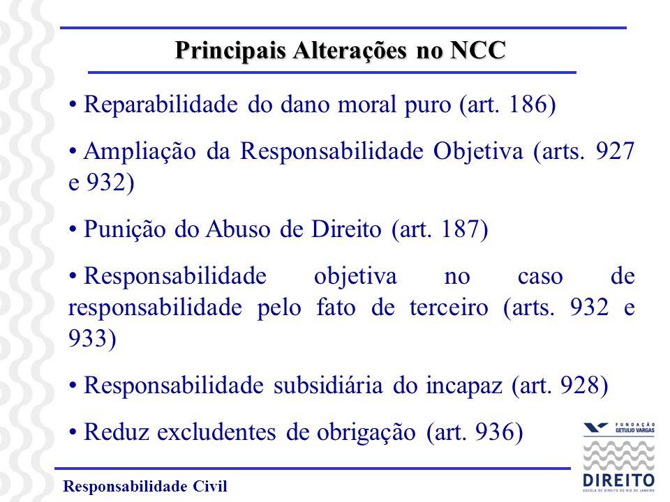 Principais Alterações no NCC