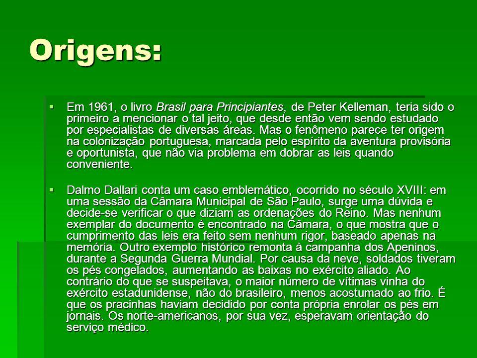 Origens: