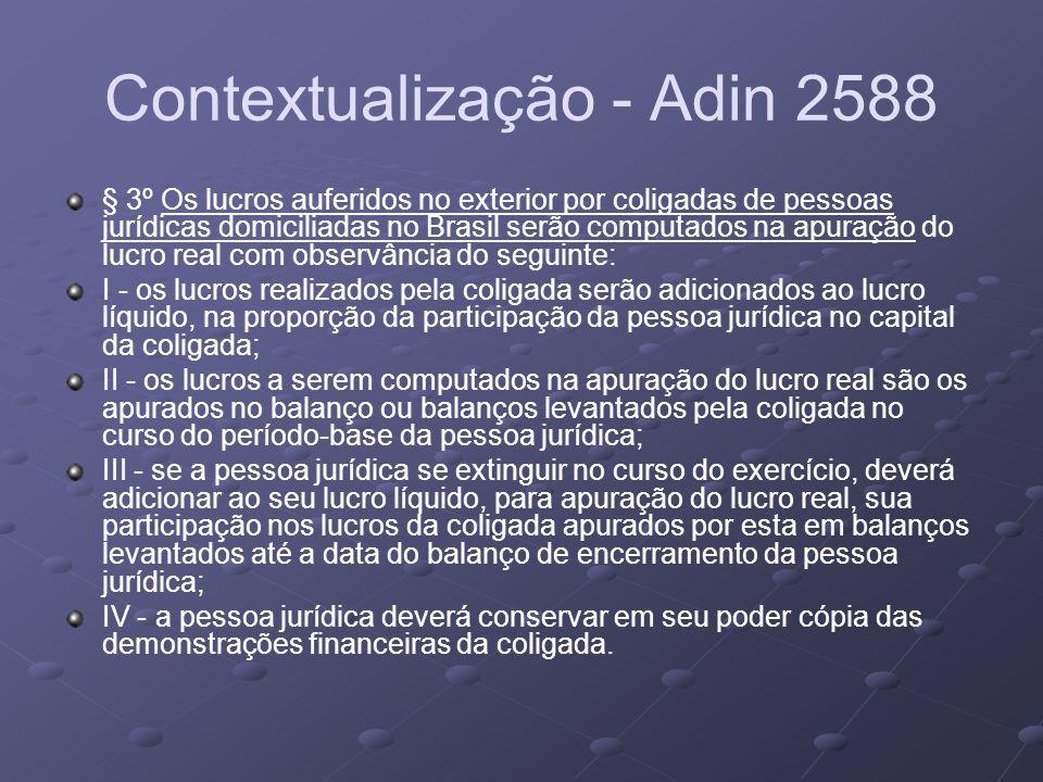 Contextualização - Adin 2588