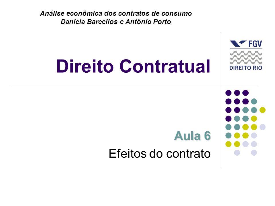Aula 6 Efeitos do contrato