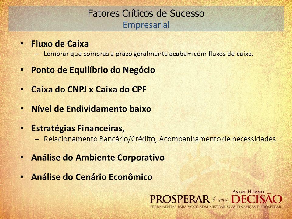 Fatores Críticos de Sucesso Empresarial