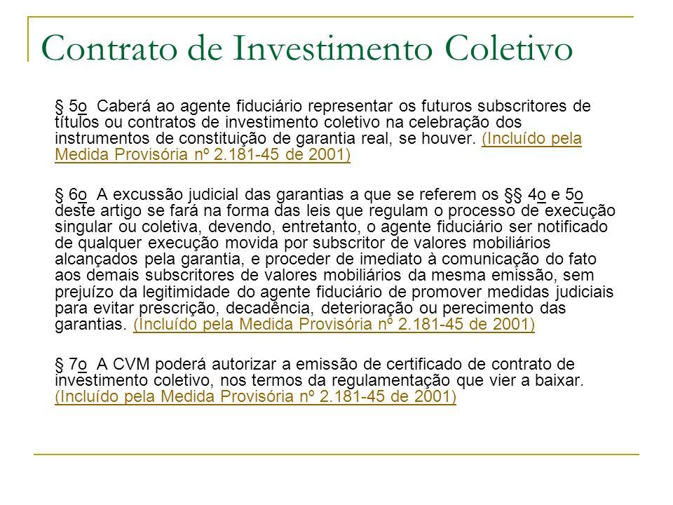Contrato de Investimento Coletivo